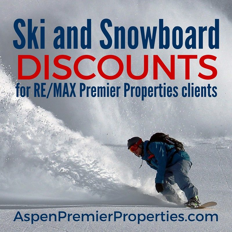 ski and snowboard rental discounts in aspen - remax premier properties